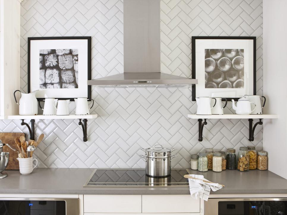 Pictures of 11 Creative Subway Tile Backsplash Ideas | HGTV subway tile kitchen backsplash
