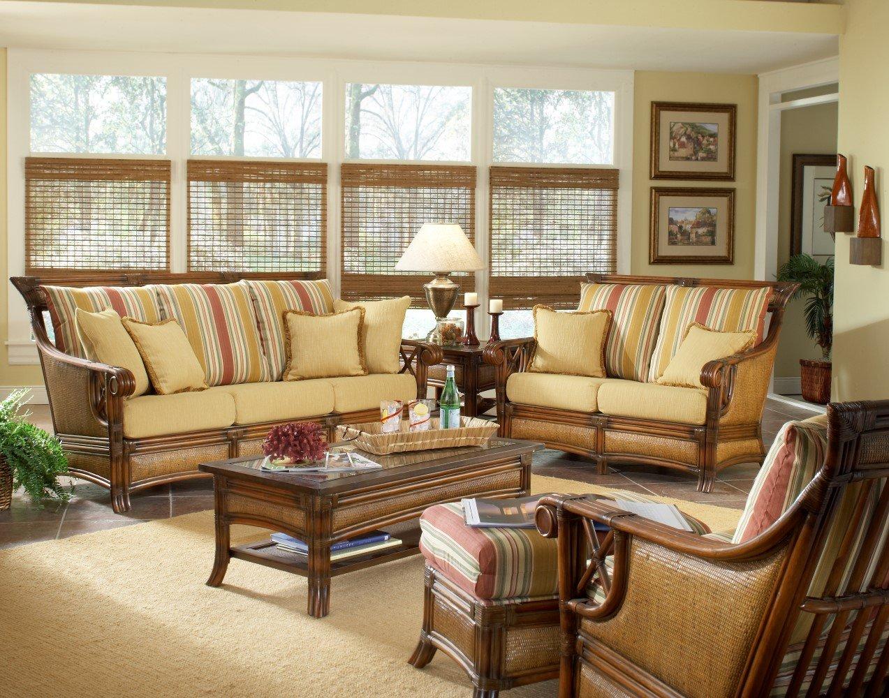 Simple Indoor wicker set sunroom furniture sets
