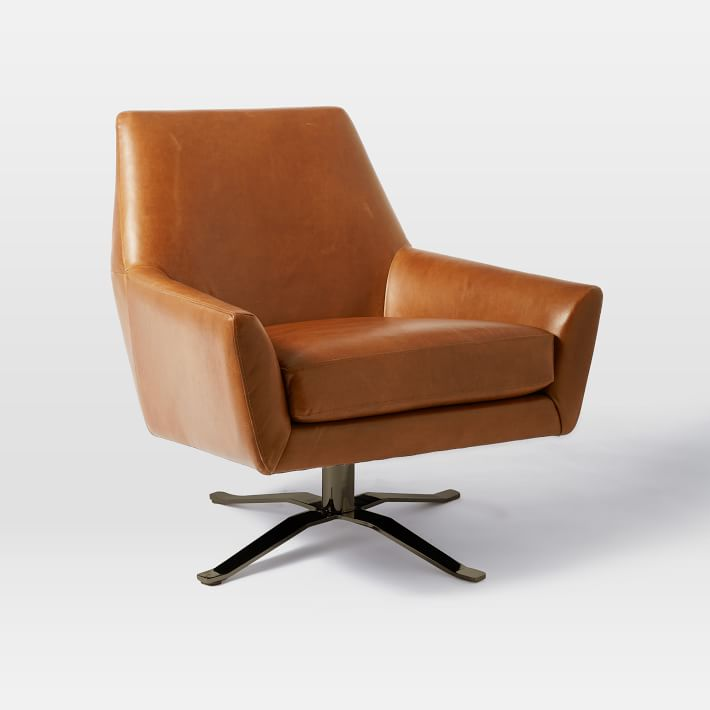 Swivel Armchair Provides Relaxation And Comfort