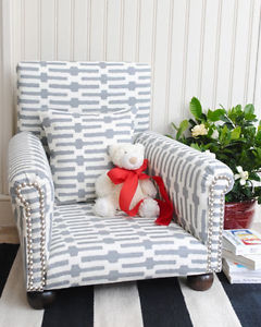 Cute Image is loading Heirloom-Quality-Child-Toddler-Upholstered-Chair-Armchair toddler upholstered chair