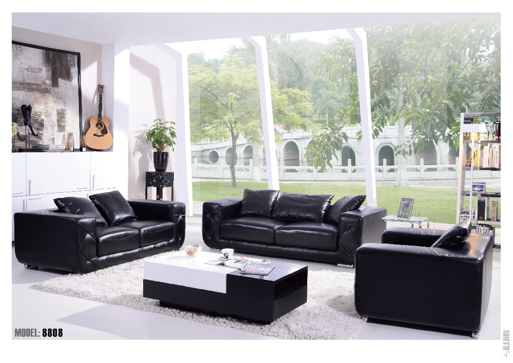 Trending 1+2+3 seater leather sofa set 2015 new design sofa furniture sofa set new design