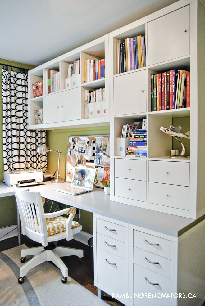 Trending 25+ best ideas about Home Office Organization on Pinterest | Office home office organization