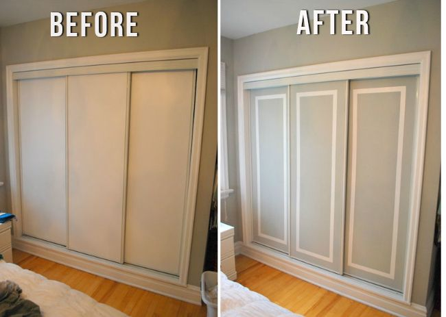 Getting an exotic closet sliding door into your home for Closet door ideas diy