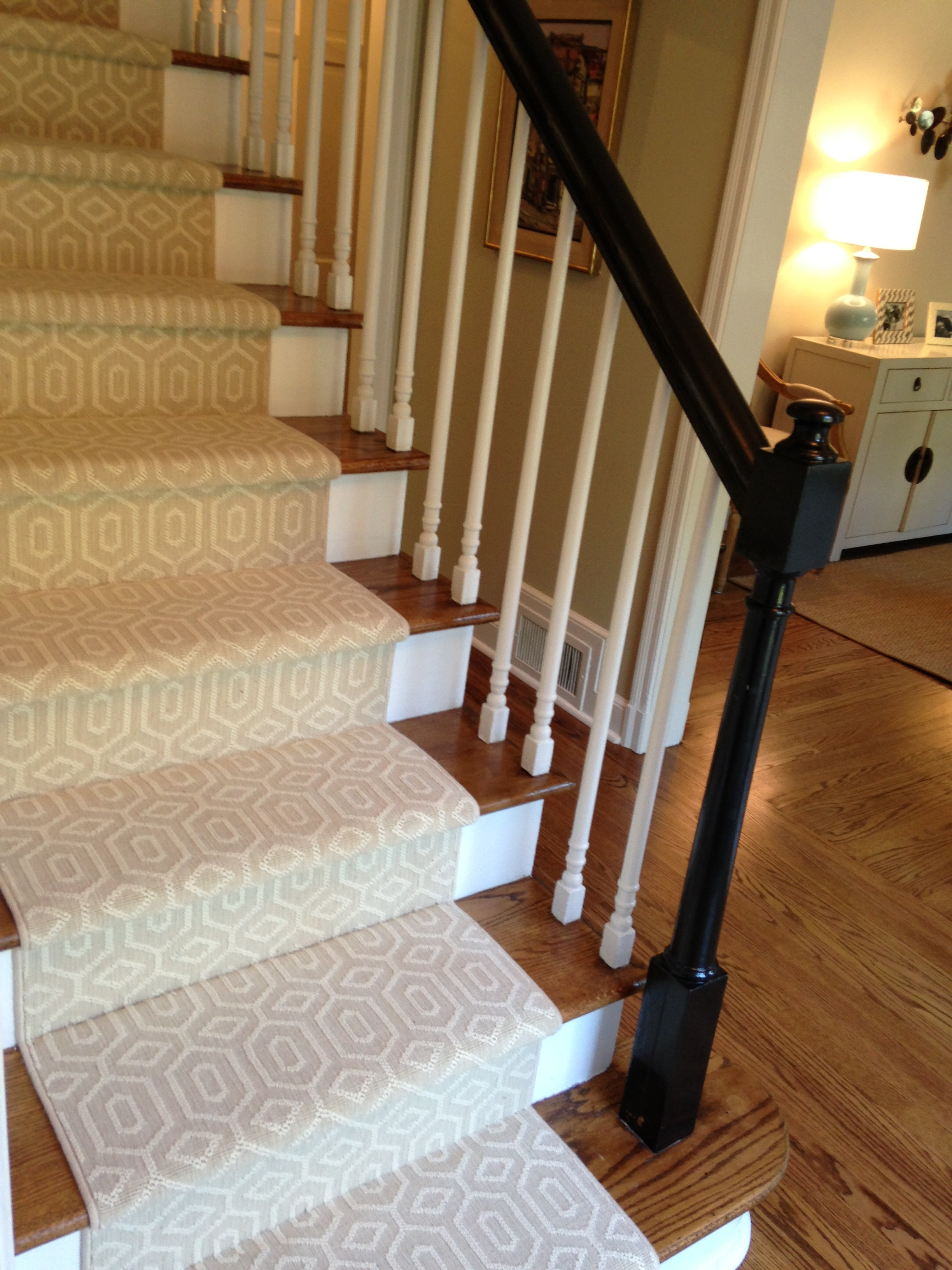 Trending Choosing a Stair Runner: Some Inspiration and Lessons Learned carpet stair runners