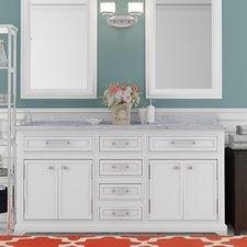 Trending Colchester 60 double sink bathroom vanity