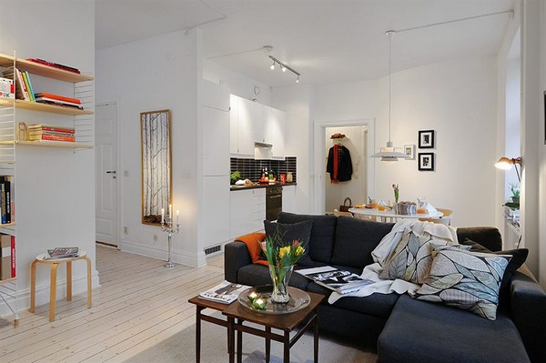 Trending Collect this idea Well Planned Small Apartment with a Fresh Interior Design small home interior design