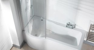 Trending Galaxia Shower Bath With Glass Screen and Panel p shaped bath shower screen