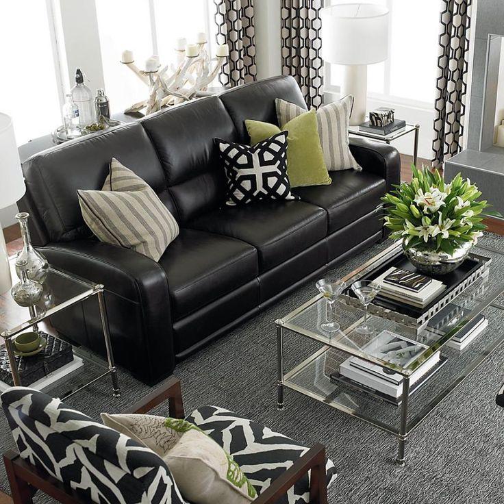 Trending Leather sofas leather sofa pillows