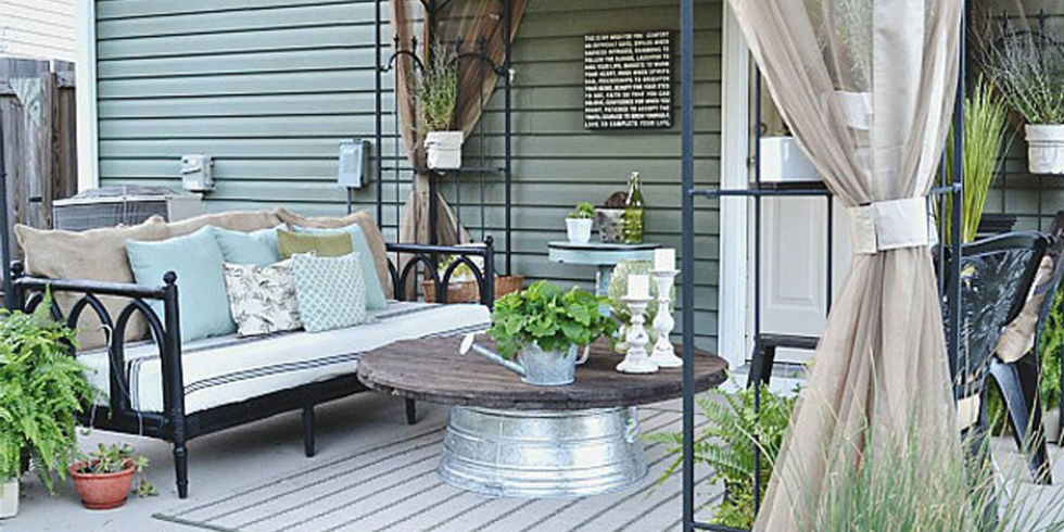 Trending Liz Marie Blog Patio Before and After - Patio Decorating Ideas patio decorating ideas
