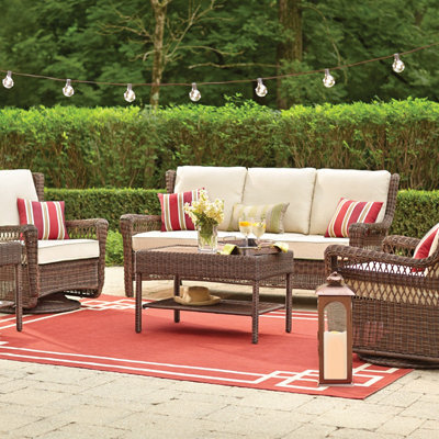 Trending Outdoor Lounge Furniture patio table and chairs set