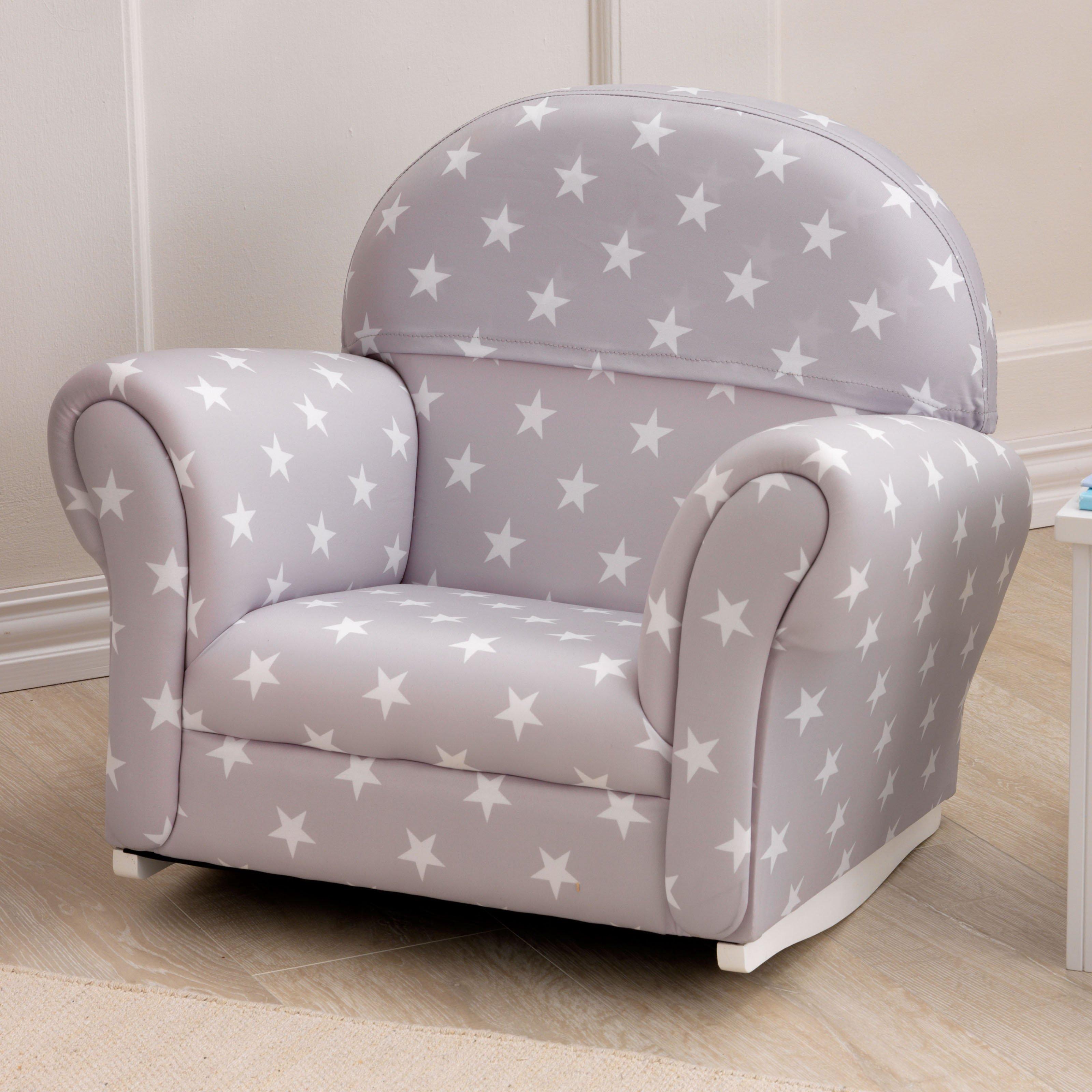 Trending Rocking Chair Design, Kids Upholstered Rocking Chair Kidkraft Gray Stars  Rocker Hayneedle toddler upholstered chair