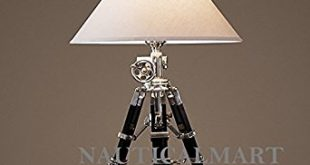 Elegant ROYAL MARINE TRIPOD TABLE LAMP tripod table lamp
