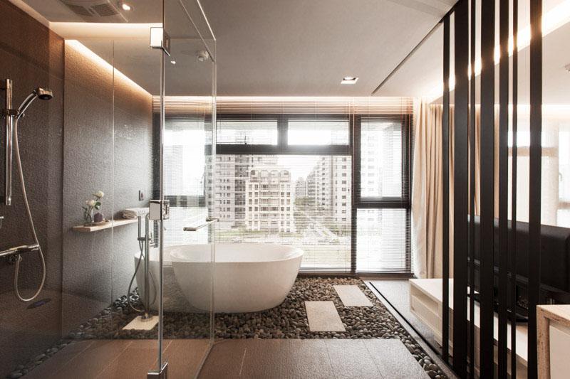 Unique 30 Modern Bathroom Design Ideas For Your Private Heaven - Freshome.com contemporary bathroom design