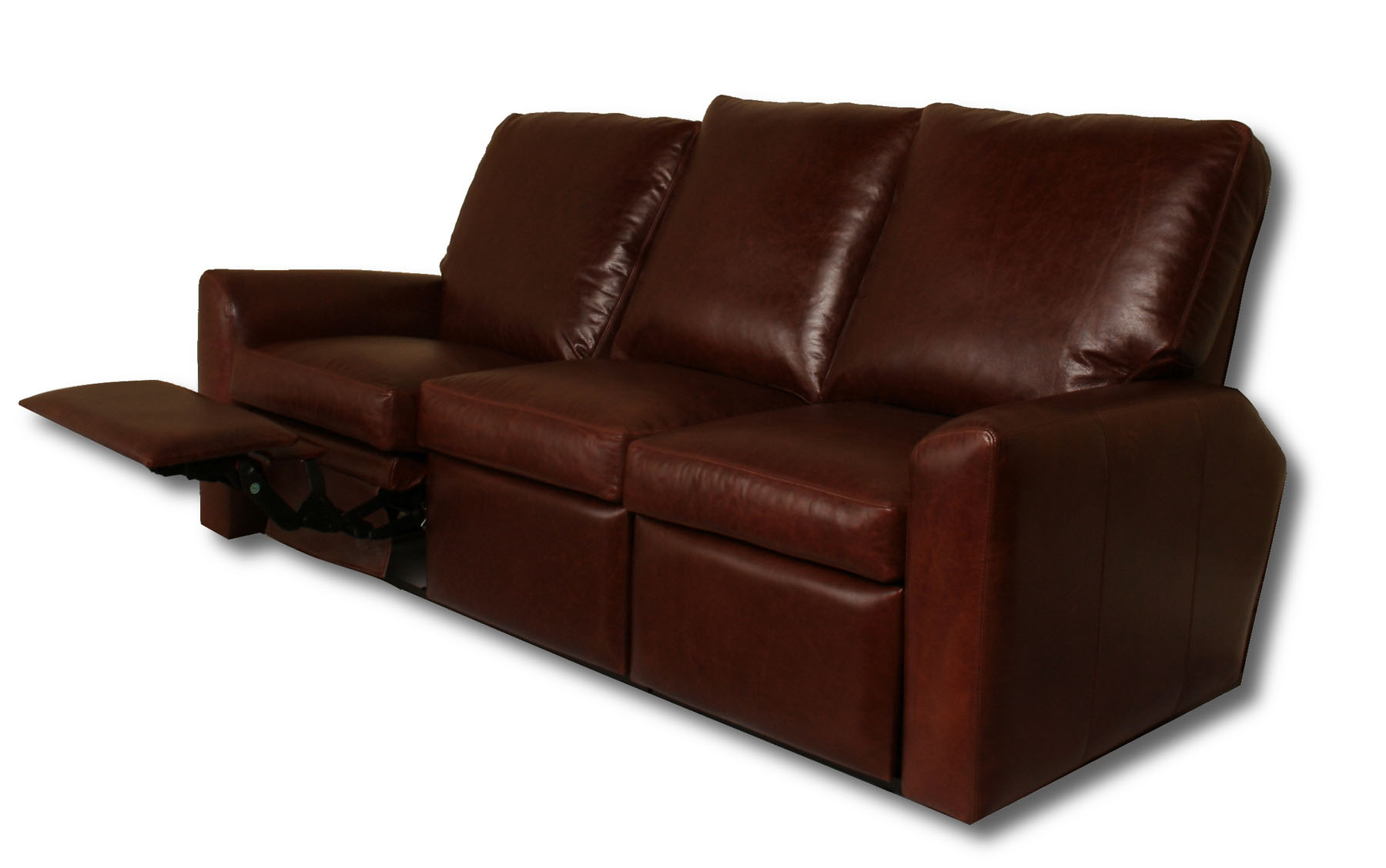 Unique Addison - Reclining Leather Sofa reclining leather sofa