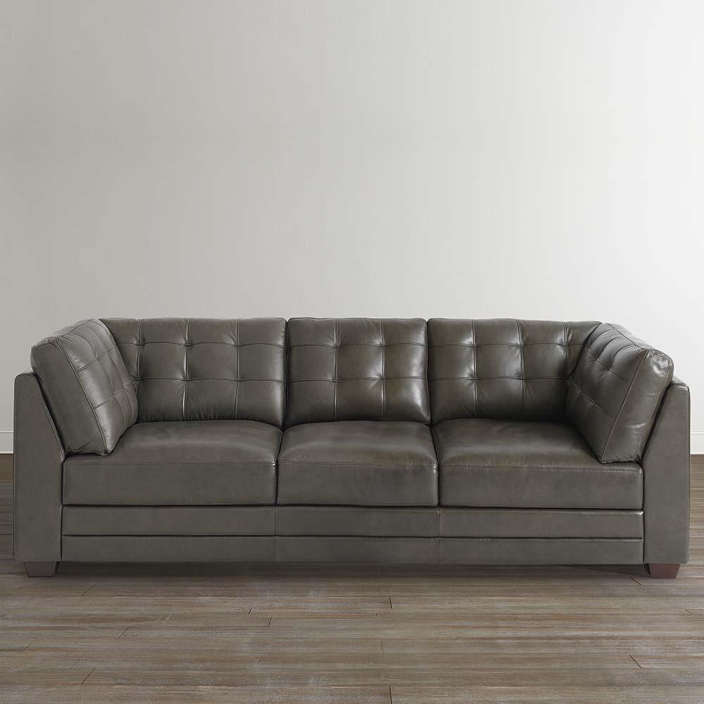 Unique Affinity Sofa $2,999 gray leather sofa