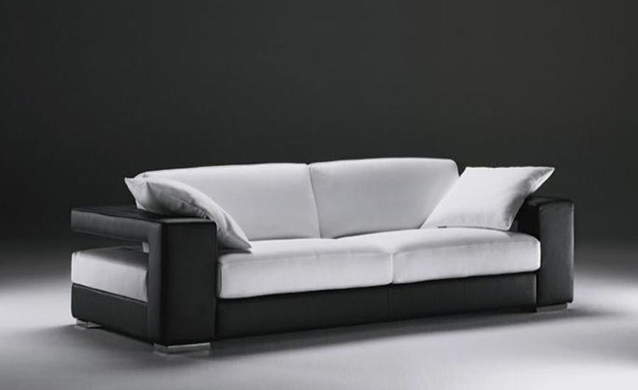 Unique Free Shipping sigle sofa, Modern Design, Classic Simple Design, Genuine  leather 3 simple sofa design