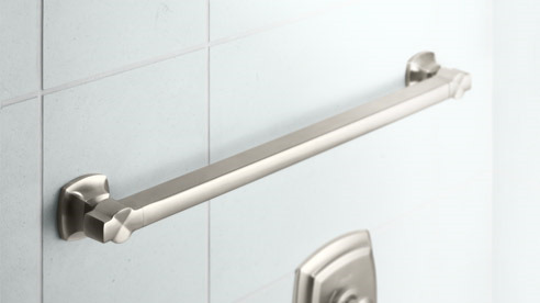 Bathroom Grab Bars Beneficial And Pretty