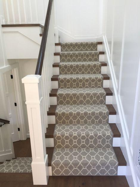 Unique Hemphillu0027s Rugs u0026 Carpets fabricated this stair runner using New Zealand wool wool carpet stair runners