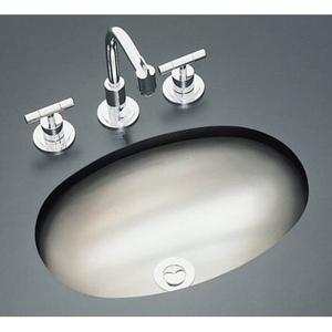 Unique K2611-SU-NA Bolero Self Rimming Bathroom Sink - Stainless Steel stainless steel bathroom sinks