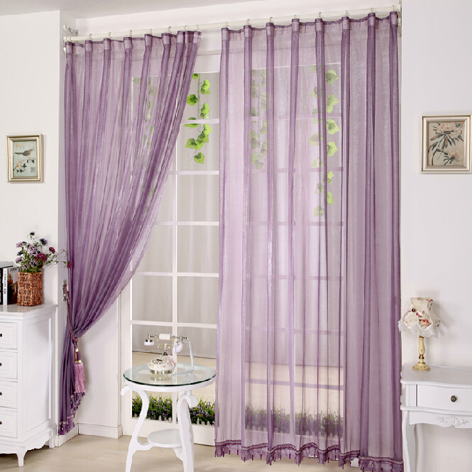 Unique ... Lilac Bedroom or Balcony Cheap Sheer Curtains. Loading zoom lilac sheer curtains