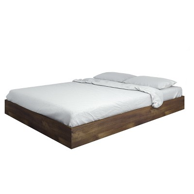 Unique Nocce Queen Size Platform Bed Truffle - Nexera. Nexera. shop all Nexera. queen size platform bed frame