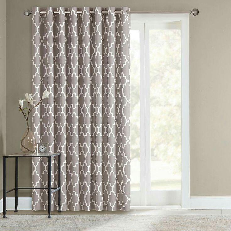 Unique Sliding door curtains More sliding door curtains
