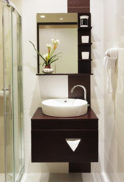 Importance of powder room vanities for Great bathroom designs for small spaces