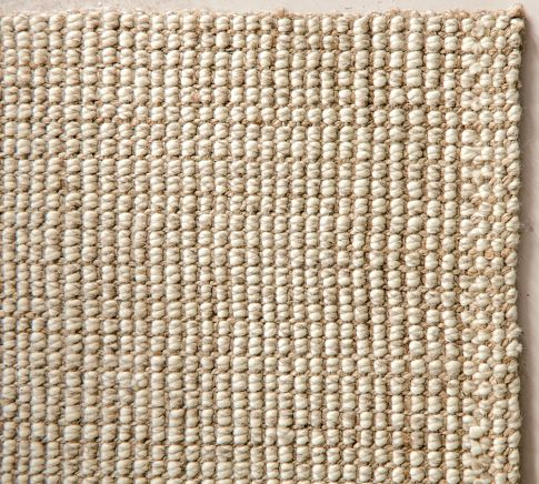 Unique Soft Fast Growing Jute Is Bouclé Woven By Hand Over A Base