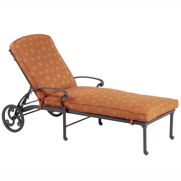Unique St. Augustine Chaise Lounge by Hanamint outdoor chaise lounge with wheels