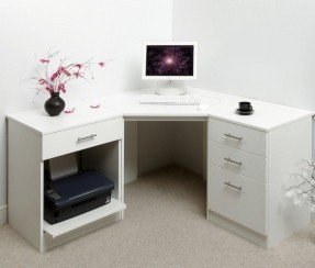 Unique white corner computer desk white corner computer desk