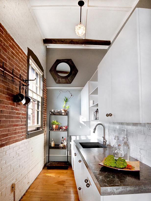 Popular Rustic Modern Loft Kitchen very small kitchen design ideas