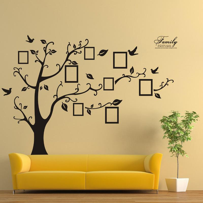Merveilleux Wall Decor Stickers  The Decorations Of Your Very Own Room Mirror Your Style