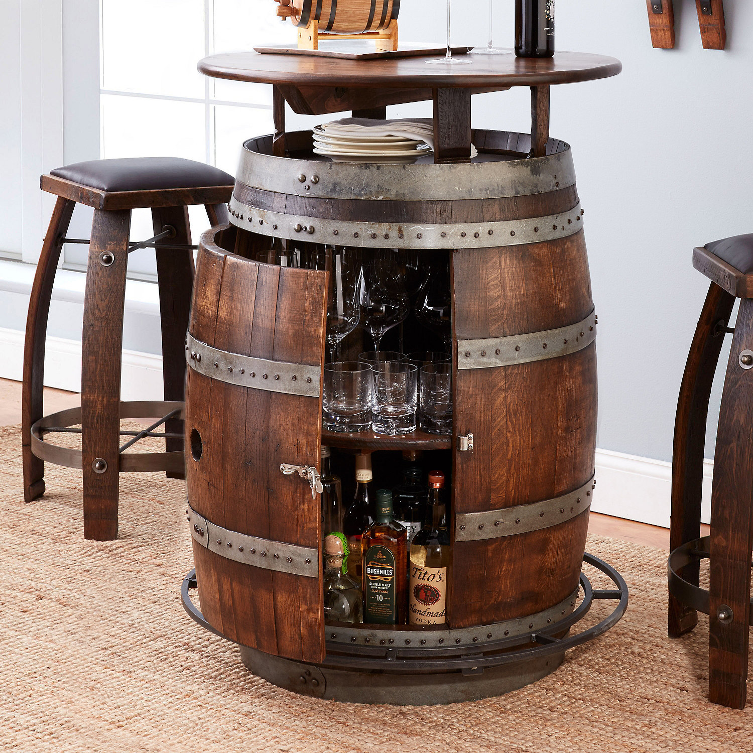 Why You Should Buy Wine Barrel Furniture