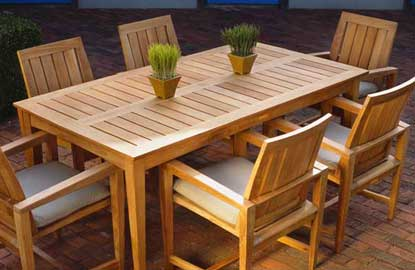 Cozy Clearance Patio Furniture: Conclusion wood patio furniture clearance