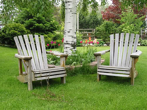 Ideas of Wooden Garden Furniture catchy ideas which can be applied to Home Interior wooden garden recliners