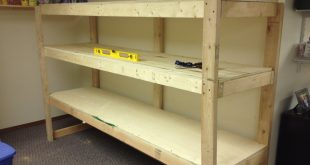 Awesome Building a Wooden Storage Shelf in the Basement - YouTube wooden storage shelves