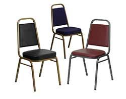 ... trapezoid back banquet chairs ... YDJNPJZ