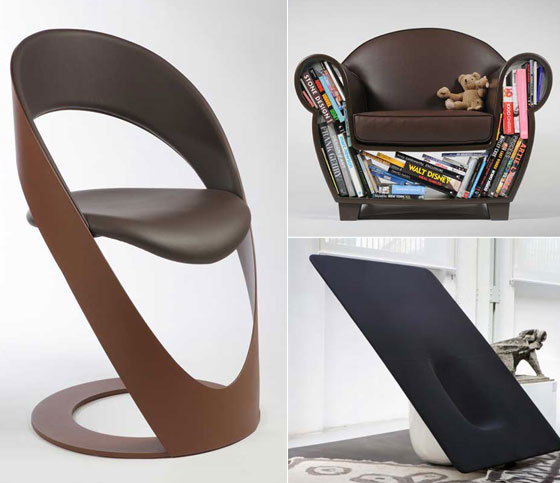10 ultra cool chair designs HIMRNAF
