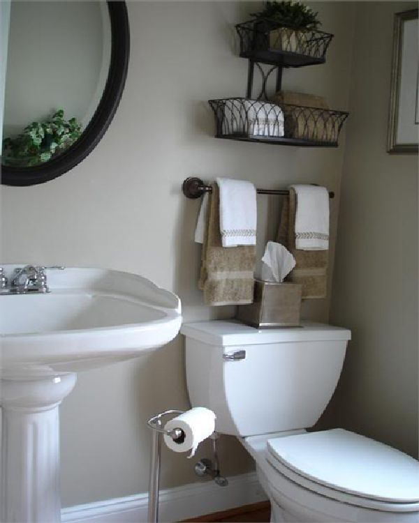12 excellent small bathroom decorating ideas pinterest digital image  inspiration OUNYEXG