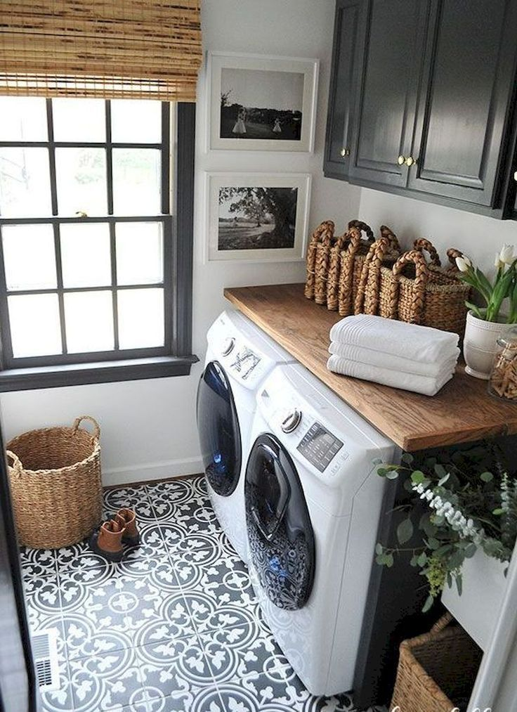 15 best small laundry room ideas - small laundry room storage IUAQVXU