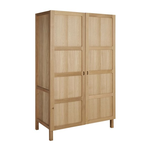 2 door oak wardrobe n°1 JBNGQBR
