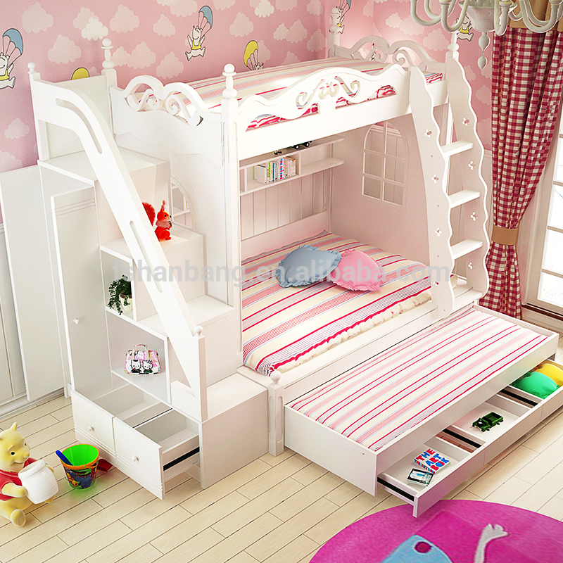3 tier kids bed triple bunk bed price - buy 3 VJPAMJG