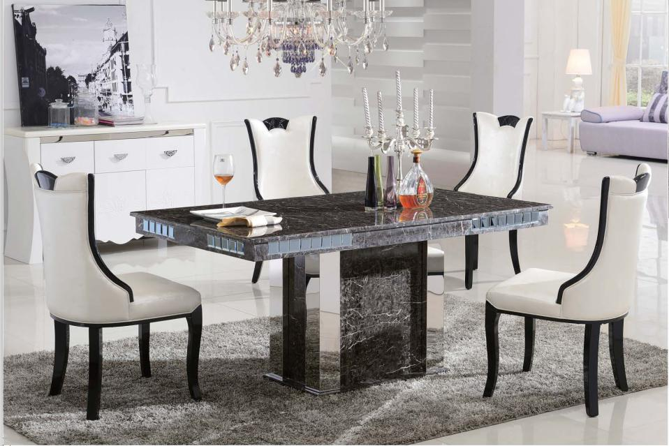 3035 marble dining table ZJCNKWG