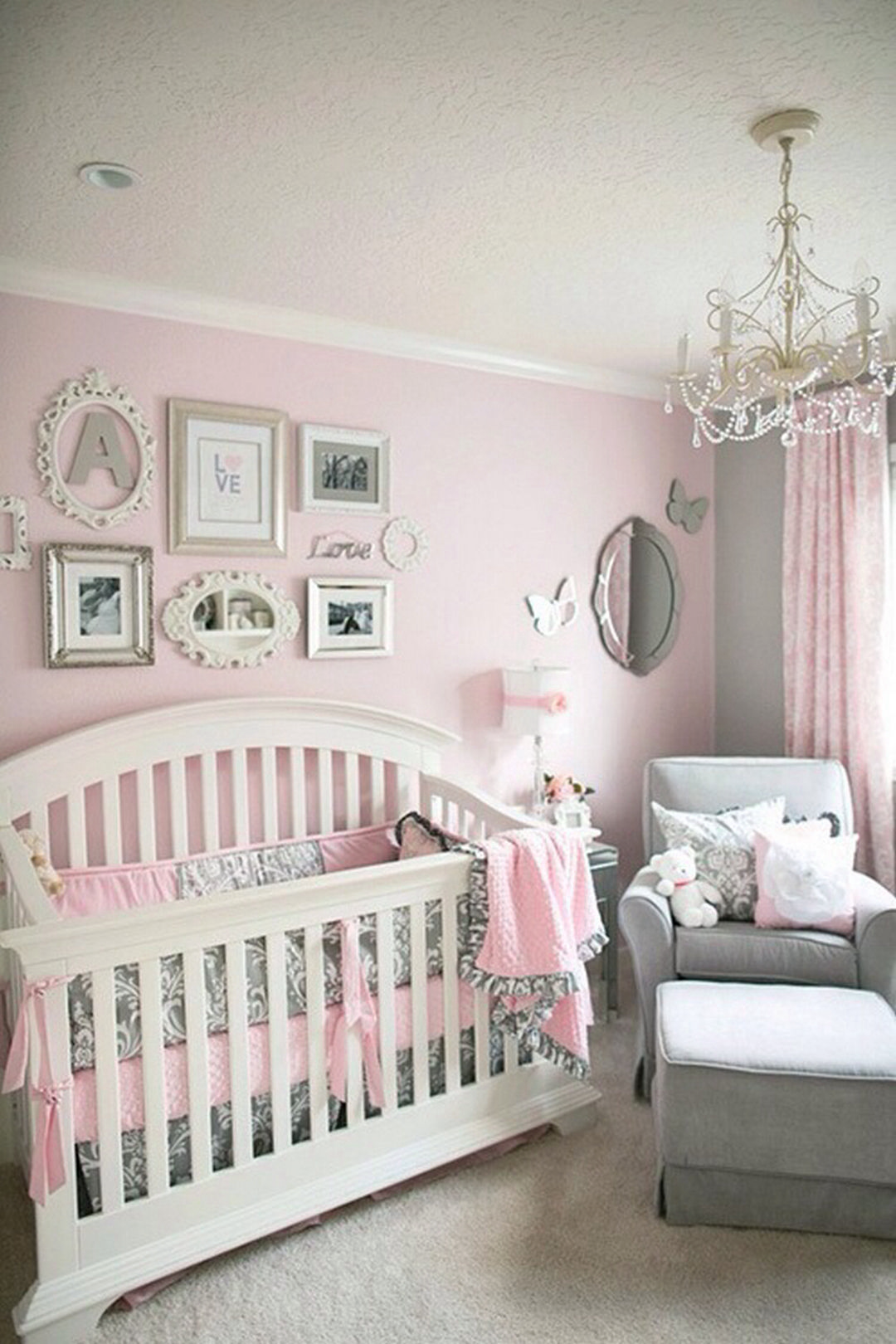 31 cute baby girl nursery ideas  https://www.futuristarchitecture.com/17118-baby-girl-nursery.html IICOQAN