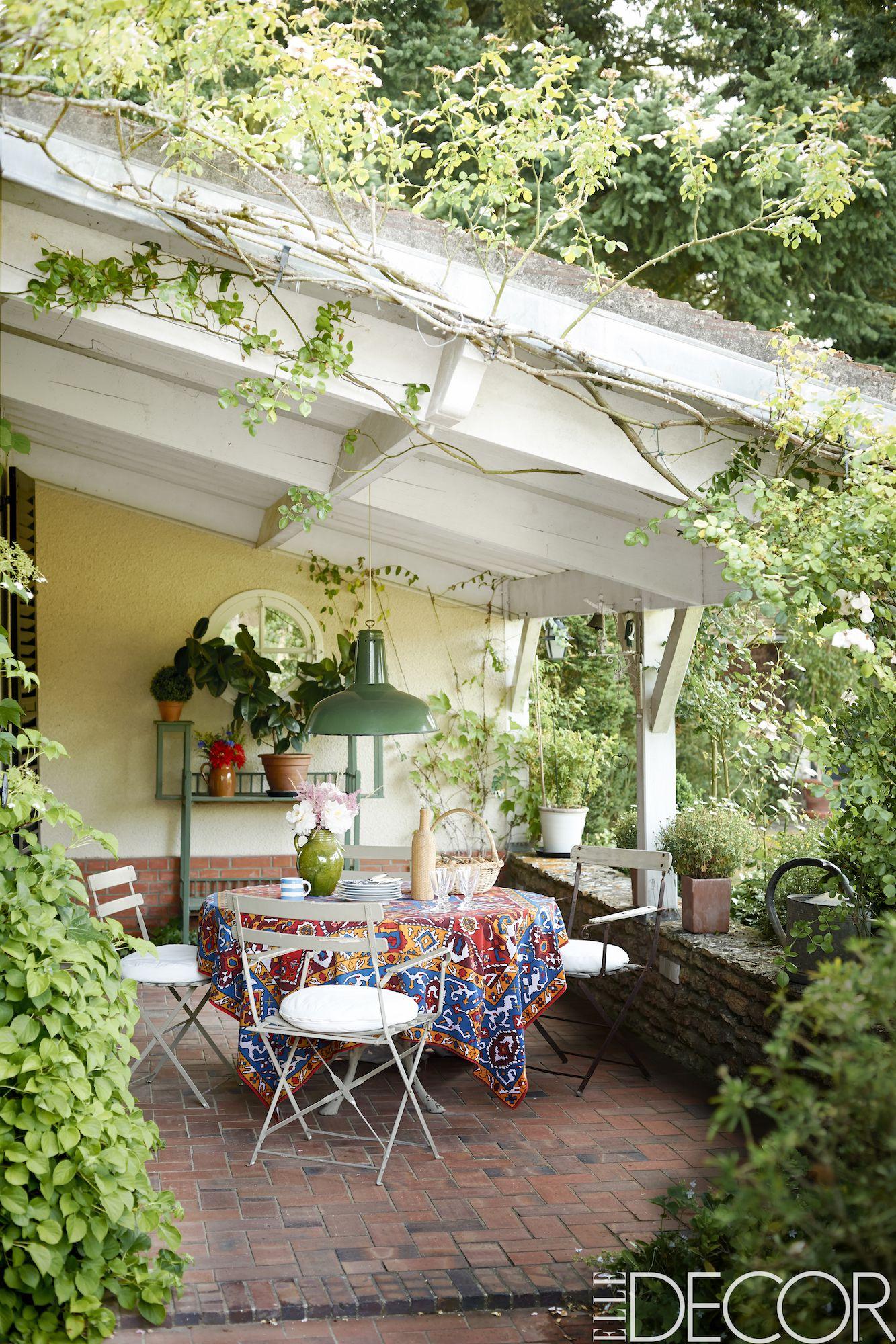 40 best small patio ideas - small patio furniture u0026 design VFOZBYN