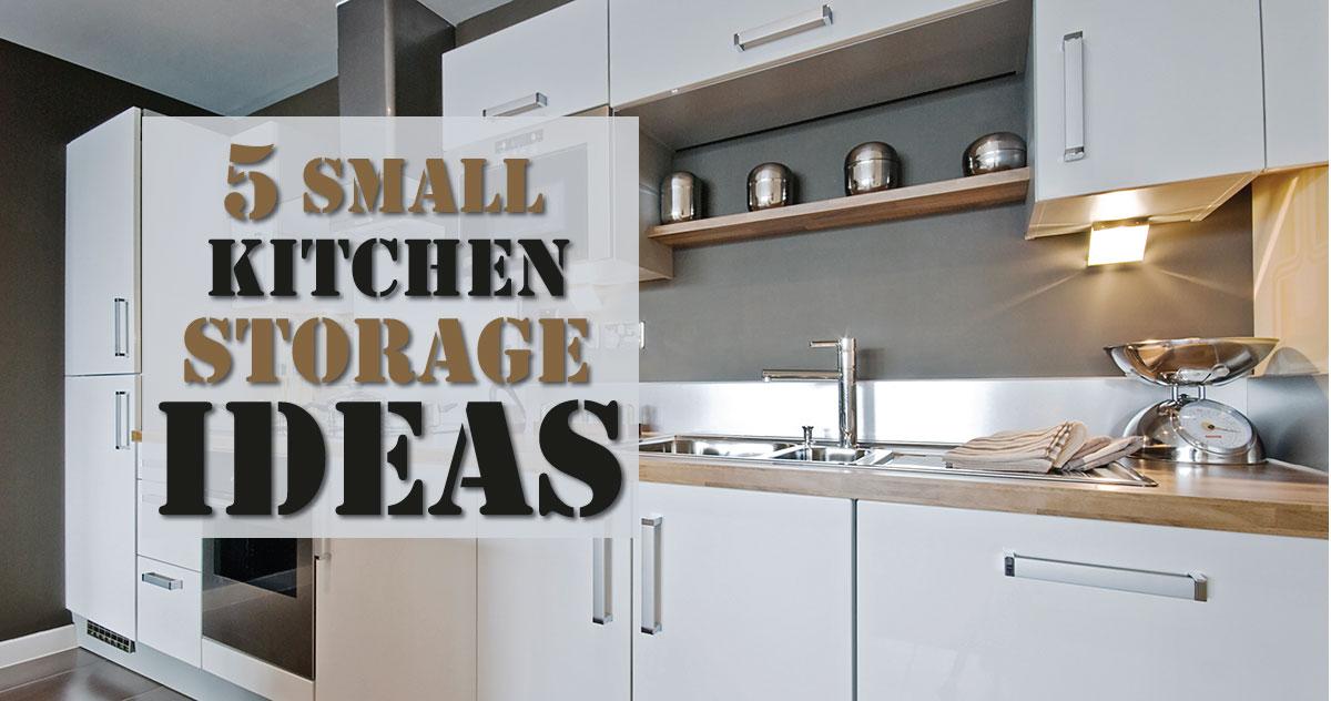 5 small kitchen storage ideas SXMNLTZ