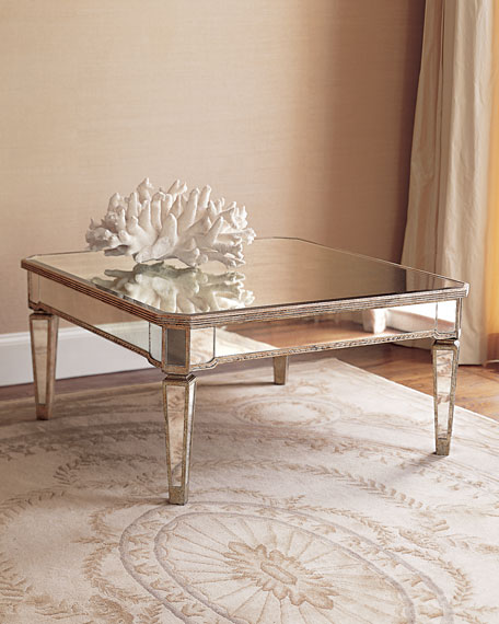 amelie mirrored coffee table URADWDK
