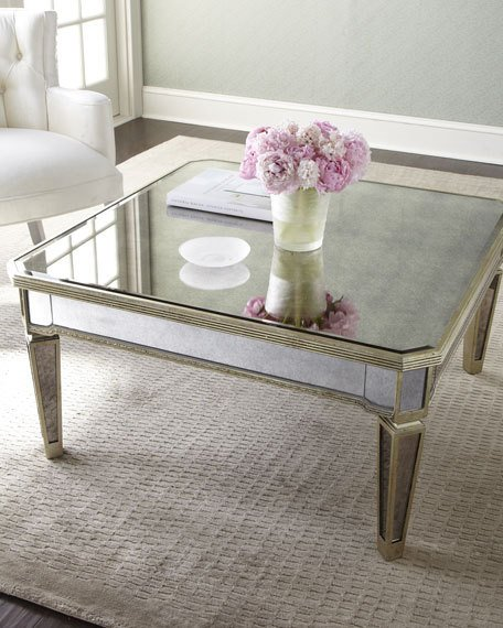 amelie mirrored coffee table WFSBPGF