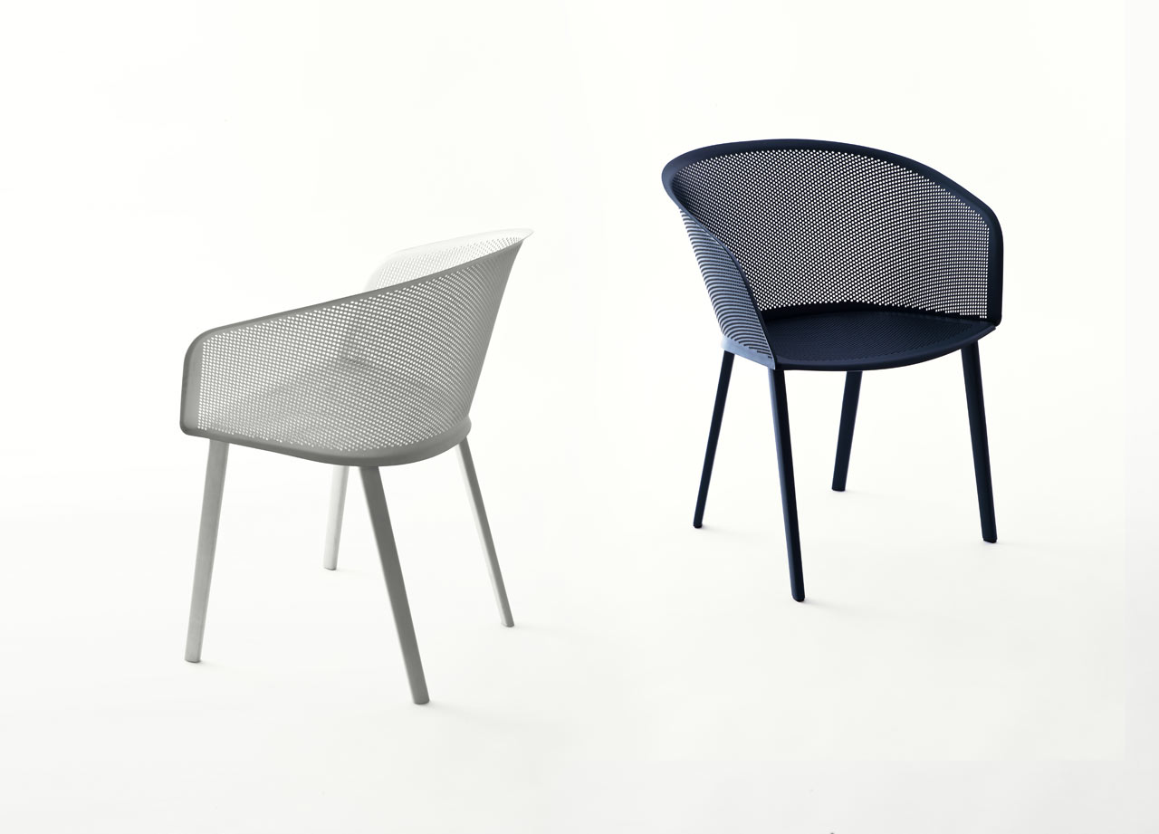 an outdoor chair thatu0027s both sturdy and delicate ... WOBIRBH