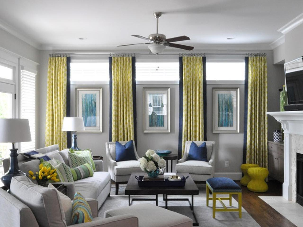 awesome window treatment ideas for living room - youtube GKQZZTI